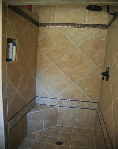 Plano tx shower remodel bathroom pan tile allen frisco for Bath remodel frisco tx